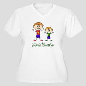 Little Brother with Big Brother Plus Size T-Shirt