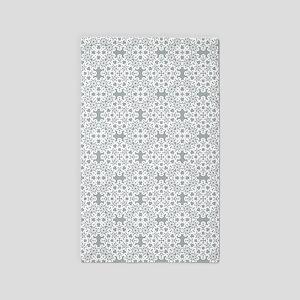 Paloma & White Lace 2 Area Rug