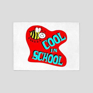 Bee Cool In School 5'x7'Area Rug