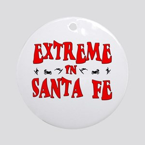 Extreme Santa Fe Ornament (Round)