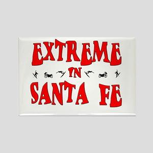 Extreme Santa Fe Rectangle Magnet