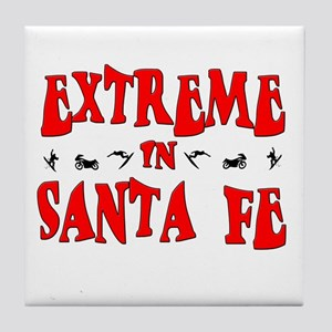Extreme Santa Fe Tile Coaster