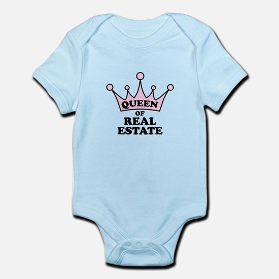 Queen of Real Estate Body Suit