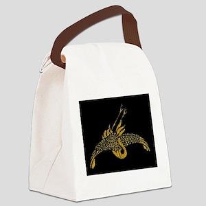 goldencrane Canvas Lunch Bag