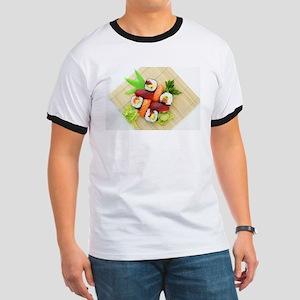 sushi asian japanese food photo T-Shirt