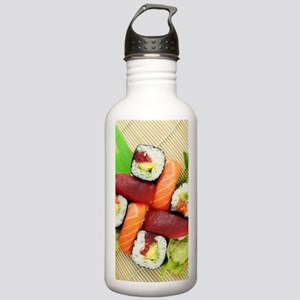 sushi asian japanese f Stainless Water Bottle 1.0L