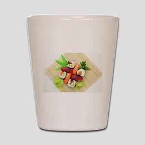 sushi asian japanese food photo Shot Glass