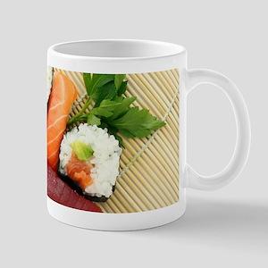 sushi asian japanese food photo Mugs