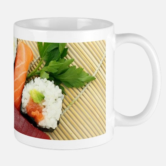 sushi asian japanese food photo Mugs
