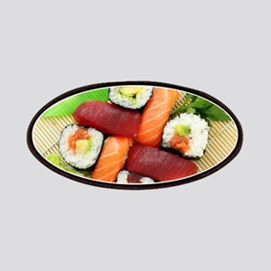 sushi asian japanese food photo Patches