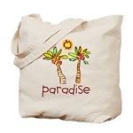Kid Art Paradise Tote Bag