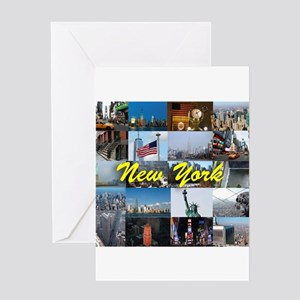 New York Pro Photo Montage-Stunning! Greeting Card