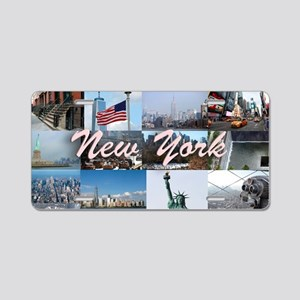 New York Pro Photo Montage- Aluminum License Plate