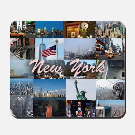 New York Pro Photo Montage-Stunning! Mousepad