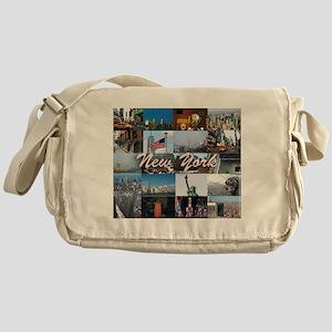 New York Pro Photo Montage-Stunning! Messenger Bag