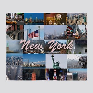New York Pro Photo Montage-Stunning! Throw Blanket