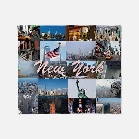 New York Pro Photo Montage-Stunning! Throw Blanket