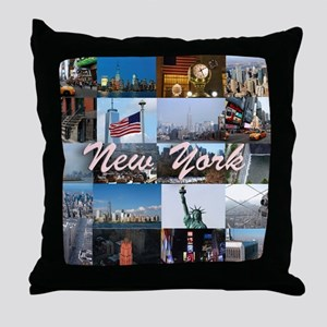 New York Pro Photo Montage-Stunning! Throw Pillow