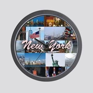 New York Pro Photo Montage-Stunning! Wall Clock