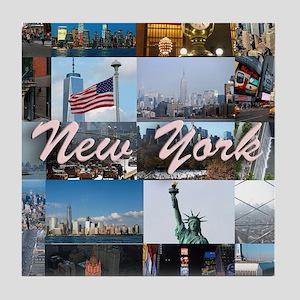 New York Pro Photo Montage-Stunning! Tile Coaster