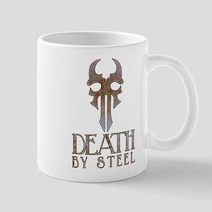 Death By Steel Rust Mugs