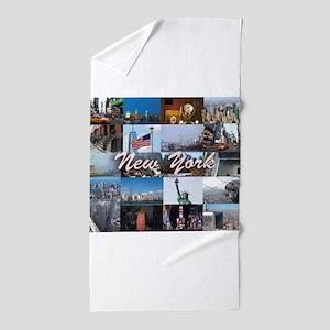 The New York City Photo Gallery Beach Towel