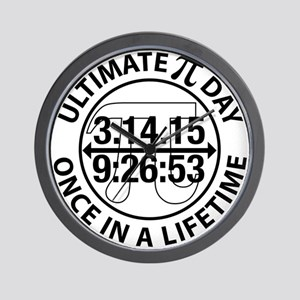 Ultimate Pi Day 2015 Wall Clock