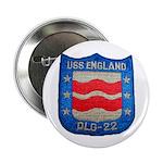 "USS ENGLAND 2.25"" Button"