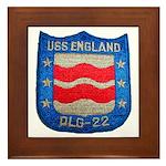 USS ENGLAND Framed Tile