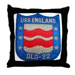 USS ENGLAND Throw Pillow