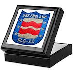 USS ENGLAND Keepsake Box