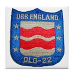 USS ENGLAND Tile Coaster