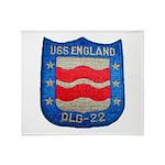 USS ENGLAND Throw Blanket