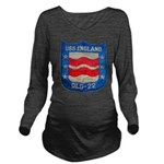 USS ENGLAND Long Sleeve Maternity T-Shirt