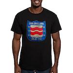 USS ENGLAND Men's Fitted T-Shirt (dark)