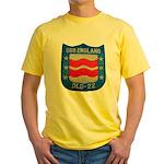USS ENGLAND Yellow T-Shirt