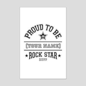 Family Rock Star Mini Poster Print