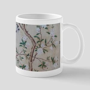 antique floral pastel wallpaper Mugs