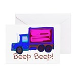 Kid Art Truck Greeting Cards (Pk of 10)