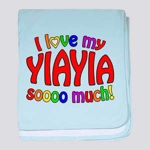 I love my YIAYIA soooo much! baby blanket