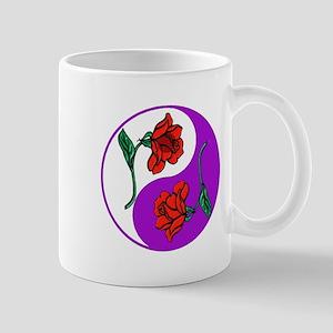 Yin Yang Roses 6 Mug