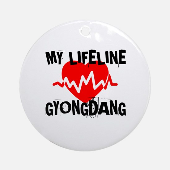 My Life Line Gyongdang Round Ornament