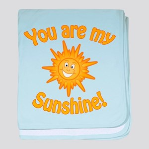 You are my sunshine! baby blanket