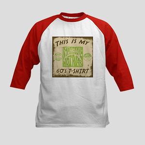 My 60's T-Shirt Kids Baseball Jersey