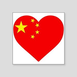 China Heart Sticker