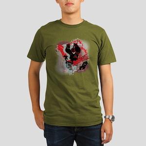 Marvel Knight Daredev Organic Men's T-Shirt (dark)