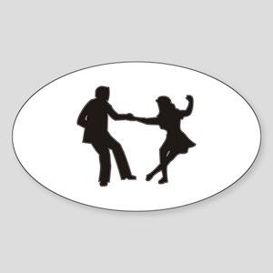 DANCING COUPLE Sticker