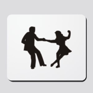 DANCING COUPLE Mousepad