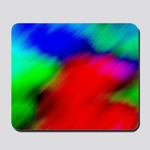 psychedelic rainbow art Mousepad