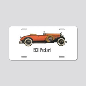 1930 Packard Aluminum License Plate